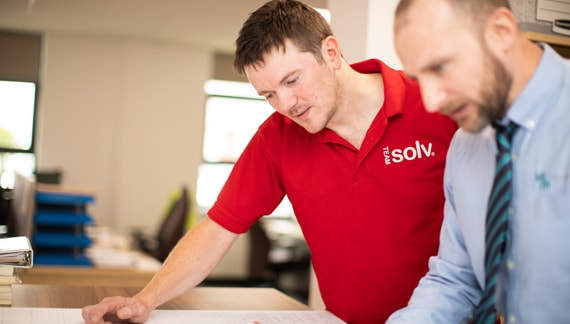 Solv Engineer with Designer